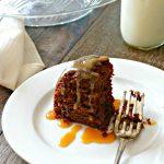Salted Caramel Mocha Bundt Cake #SundaySupper