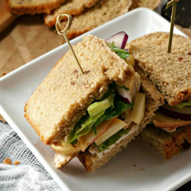 Turkey Apple Cheddar Sandwich Recipe: Creative Thanksgiving Leftovers Recipes