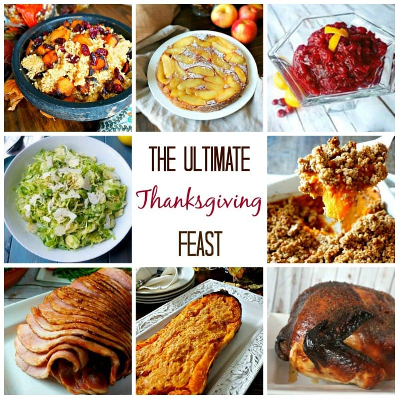 Ultimate Thanksgiving Recipes: The perfect selection of main courses, side dishes, and desserts--everything you need to make your Thanksgiving feast complete. All recipes are made with whole foods and of course, LOVE.
