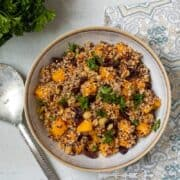 Quinoa Salad with Squash