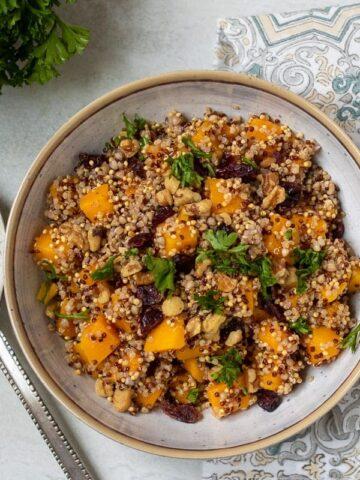 Quinoa Salad with Squash