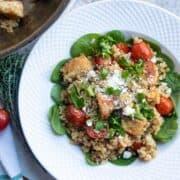 Bowl of Mediterranean Chicken and Rice