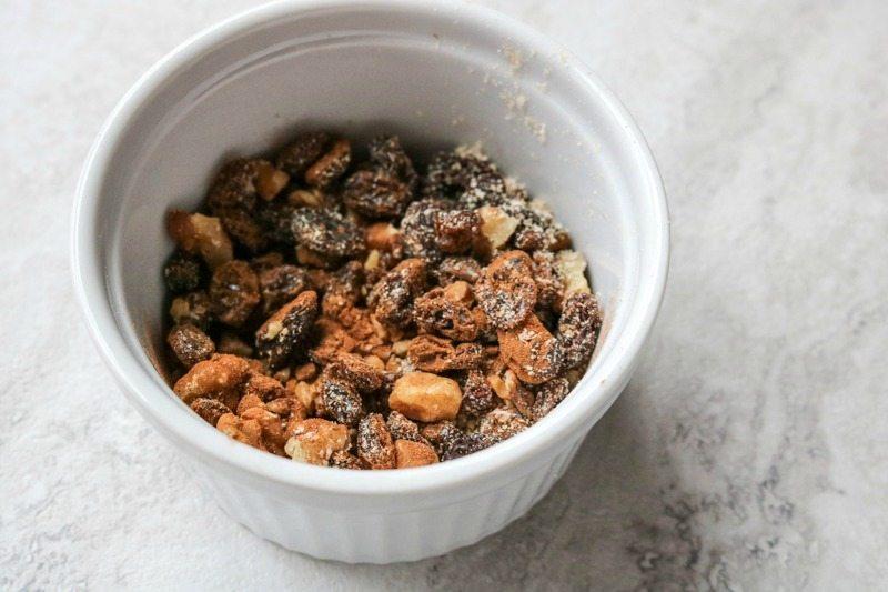 Oatmeal Walnut Raisin mixins for Oatmeal Raisin Cookies