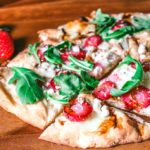 Strawberry and Arugula Pizza #SundaySupper #FLStrawberry