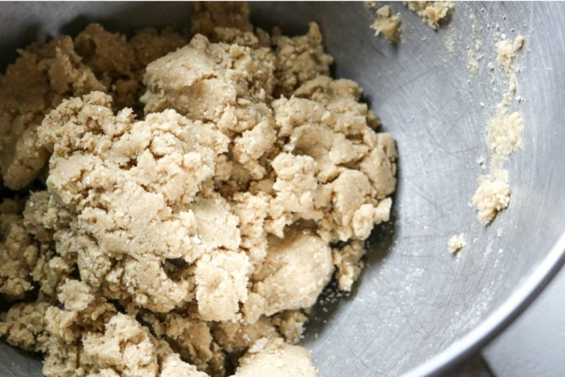 Base Dough for Oatmeal Cookies