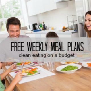 Subscribe for FREE weekly Meal plans