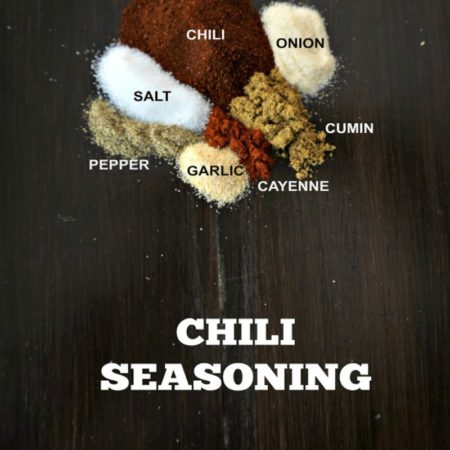 Homemade Chili Seasoning is made up of the perfect blend of cumin, paprika and chili powder and will pack a whole lot of flavor into your chili recipes.