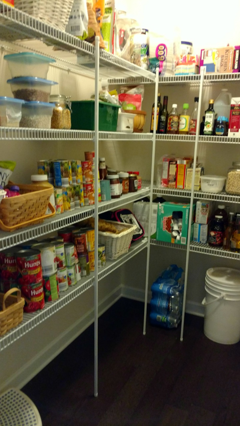 How to Organize a Pantry to make Healthy Eating a reality.