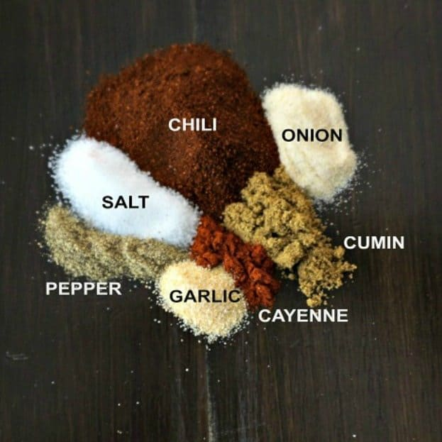 DIY Chili Seasoning (Copycat Chili