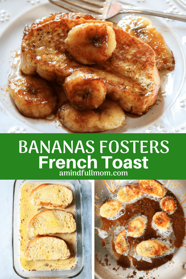 French toast and an iconic New Orleans dessert collide in this dish that features a caramelized banana topping and a rich Challah french toast. This Bananas Foster French Toast is a decadent, luxurious spin on classic french toast.