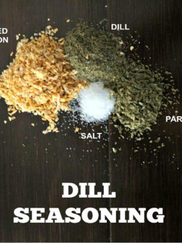 Homemade Dill Seasoning