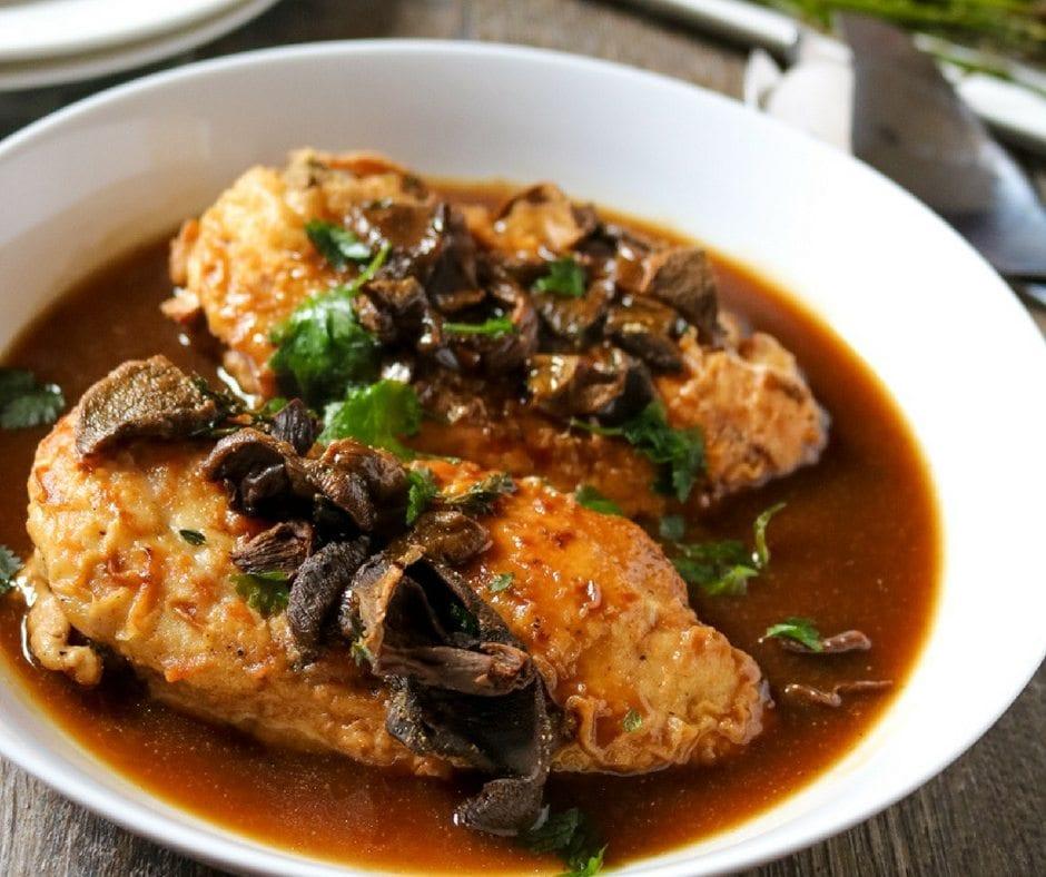 The Best Chicken Marsala Recipe A Mind Full Mom