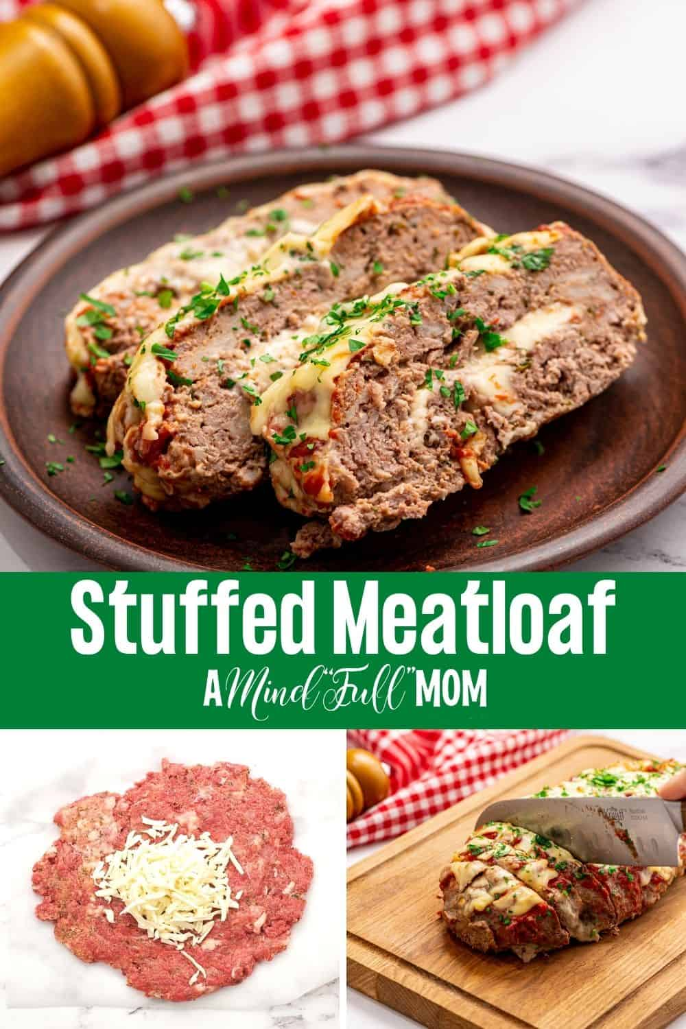 Say good-bye to boring, flavorless meatloaf and make Pizza Meatloaf instead. Made with pizza seasonings and stuffed with cheese, this recipe for Meatloaf is filled with incredible flavor and simply the best meatloaf you will ever eat!