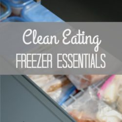 What to stock in your freezer to eat healthy and on budget
