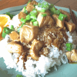 Easy 30 Minute Orange Chicken with Rice