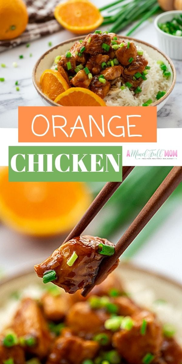 So much better than take-out, this Homemade Orange Chicken comes together in less than 30 minutes for an easy, healthy meal!