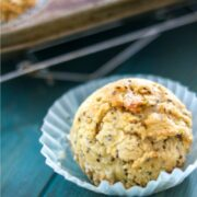 Lemon Chia Muffin with Coconut Flour