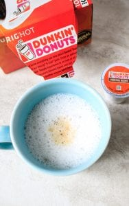 2 Ingredient DIY Latte: No Fancy Equipment Required--Skip the expensive chain's lattes and make your own at home with a kitchen tool you have at home. Easily made dairy-free, vegan, and/or Paleo.
