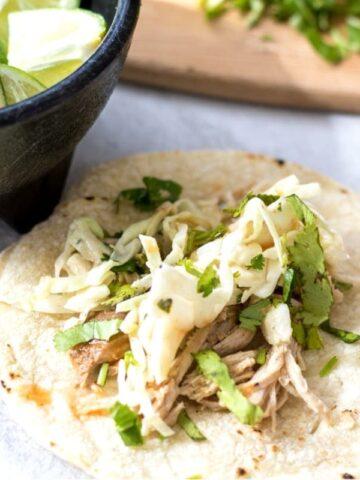 Easy Pork Tacos