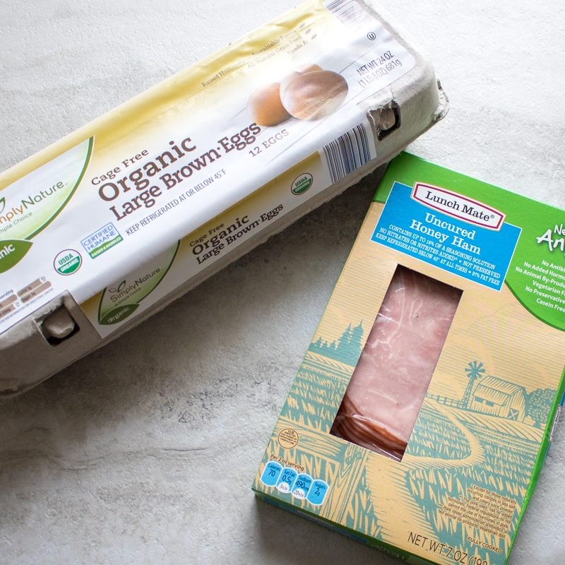 Clean Ingredients Egg Cups