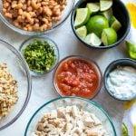 Easy Slow Cooker Carnita Burrito Bowl