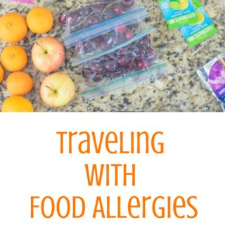 Traveling with a Food Allergy: Tips and tricks and how to safely plan, prepare and pack for a trip despite dietary restrictions from food allergies or chronic disease.