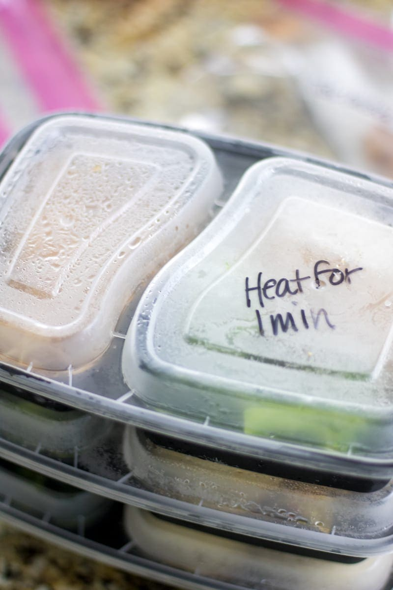 How to Freeze Meals for a Trip