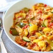 Bowl of hearty Ratatouille
