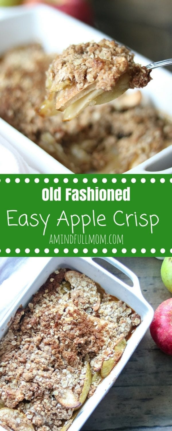 Apple crisp, with no oats and lots of crisp | TODAY.com
