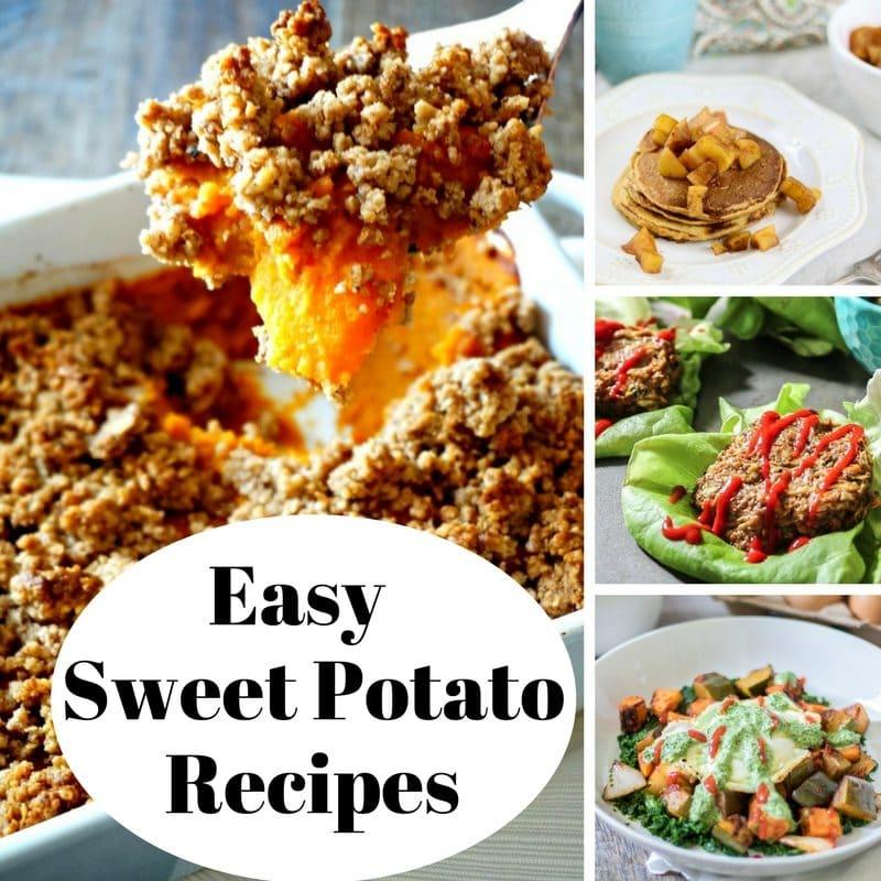 Healthy Sweet Potato Recipes {Breakfast, Lunch, Dinner