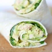 Easy Avocado Tuna Salad | Easy Dairy-Free Tuna Salad Wrap with Southwestern Flair | Easy Tuna Recipes | Canned Tuna Recipe | Tuna Salad Recipes