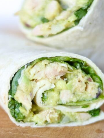 Easy Avocado Tuna Salad | Easy Dairy-Free Tuna Salad Wrap with Southwestern Flair | Easy Tuna Recipes | Canned Tuna Recipe | Tuna Salad Recipes