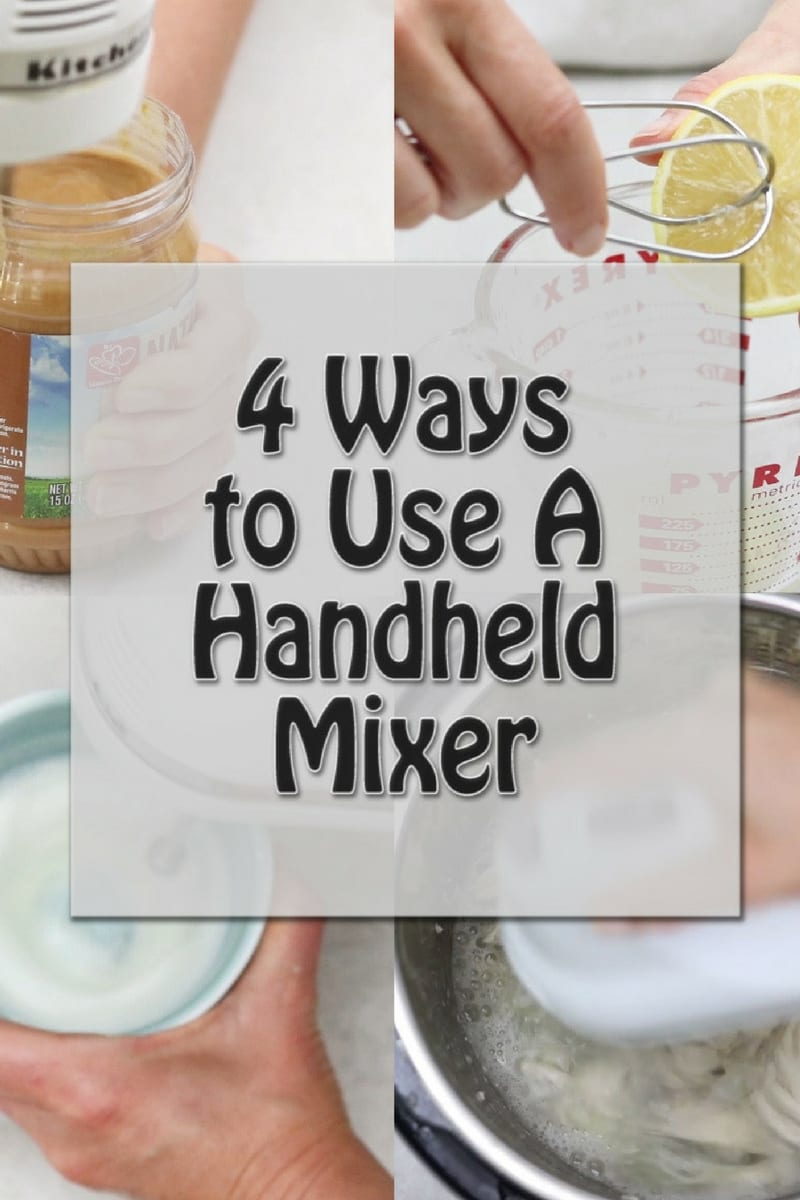 How to Use a Hand held Mixer In Ways You NEVER Thought Of: Outlining handheld mixers uses and a few new ideas that will rock your world.