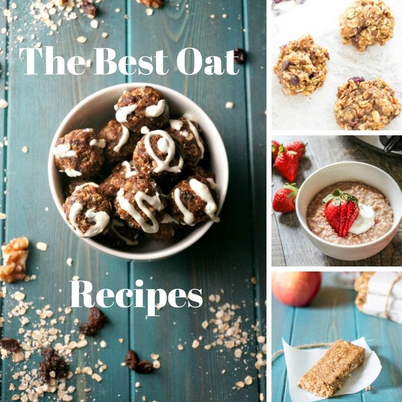 Oats Recipes: More than just oatmeal, oats star in recipes like pancakes, muffins, and even savory dishes. From steel cut oat recipes, to oatmeal protein balls, to using oats for baking, these recipes will put your oats to delicious use!