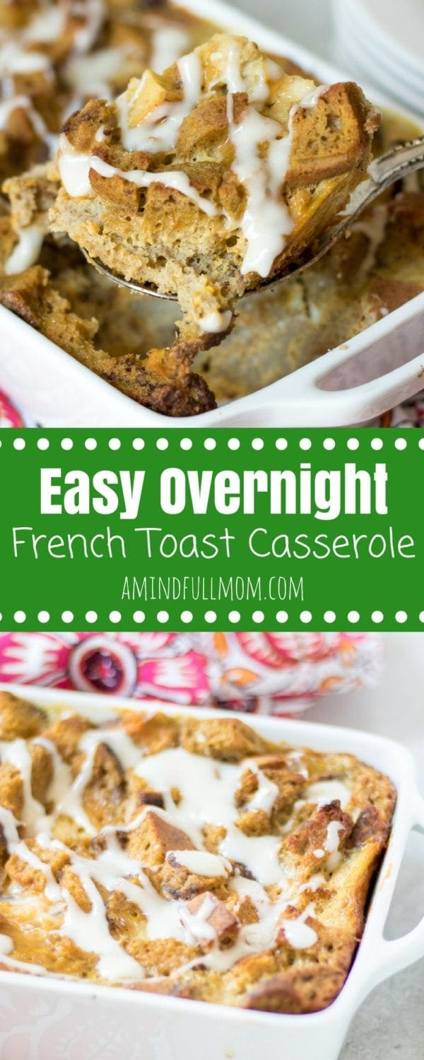 Easy overnight french toast casserole simple breakfast for a crowd easy overnight french toast casserole a simple breakfast recipe for a crowd this whole ccuart Images