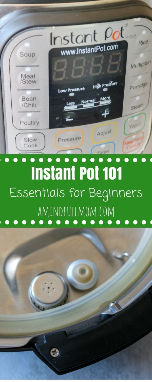 Instant Pot 101: A Beginners Guide to Electric Pressure Cooking. Feeling overwhelmed by your new Instant Pot? Do NOT fear!! I will walk you through the essentials on pressure cooking. Before long, the Instant Pot will surely become your new favorite kitchen appliance.