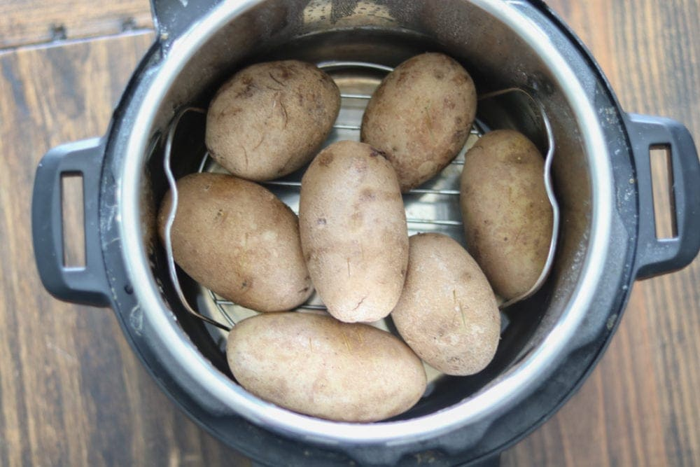 Perfectly cooked Potatoes in Instant Pot in 12 minutes