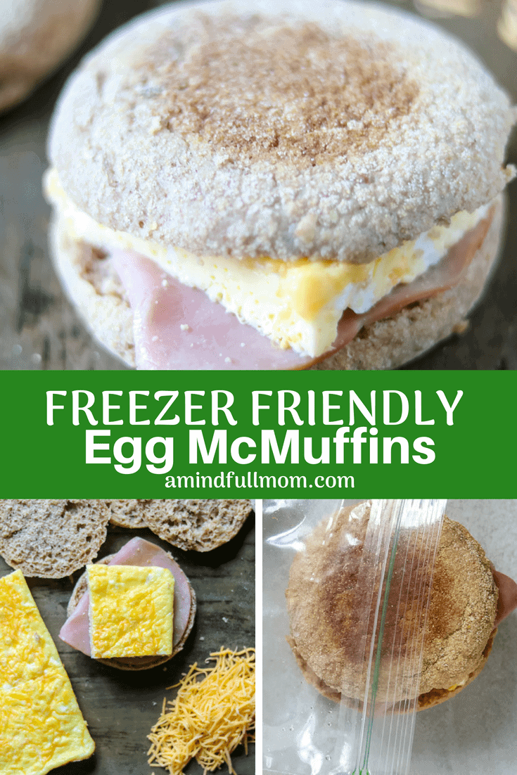 Healthy Homemade Egg McMuffin Sandwiches: Ham and egg breakfast sandwiches come together easily with a sheet pan hack for cooking eggs. Make ahead and freeze for an easy, wholesome on-the-go breakfast and skip the drive-thru permanently. The Cheesy Whole Wheat Egg Sandwiches are perfect for a crowd or for make-ahead recipe. #breakfast #healthybreakfast #eggs