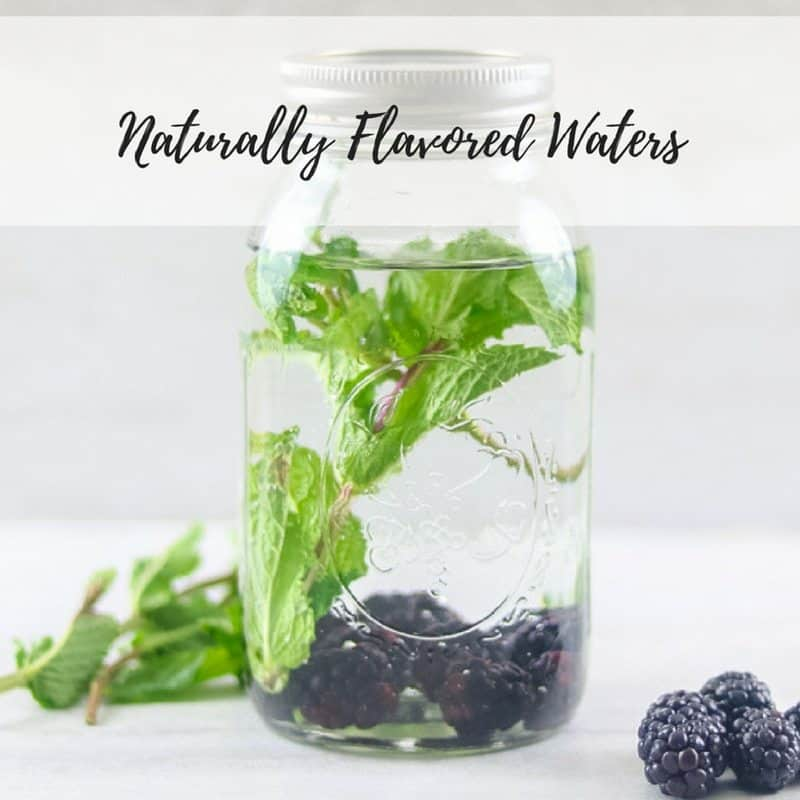 4 Fruit Flavored Waters (The BEST Infused Waters)