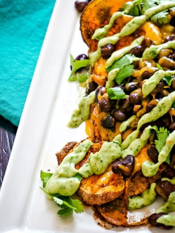 Easy Sweet Potato Nachos