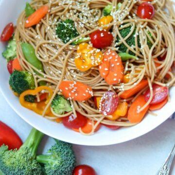 Easy Asian Noodle Salad