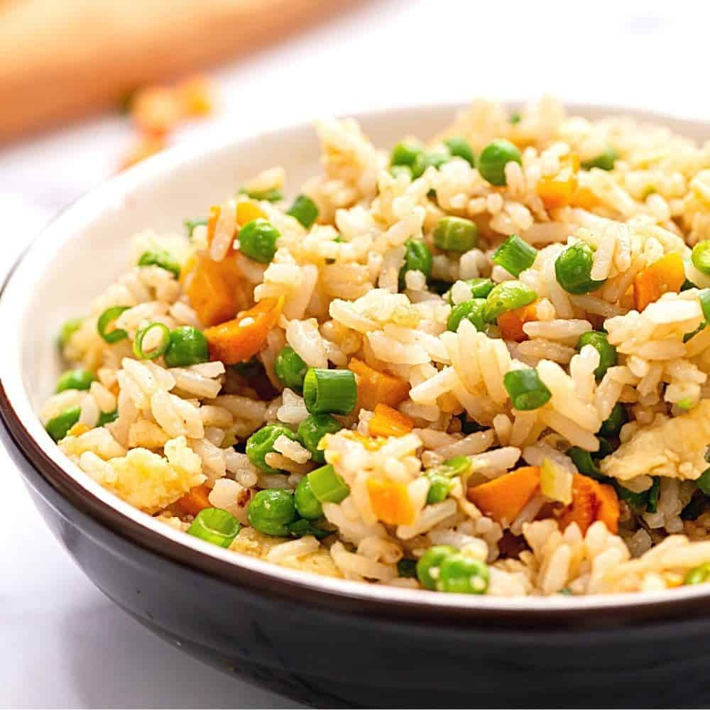 15 Minute Fried Rice Recipe A Mind Full Mom