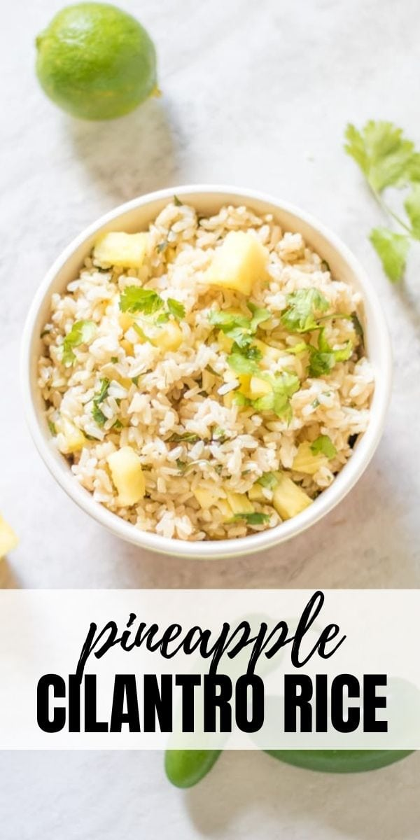 Add some flavor to boring rice with this recipe for Pineapple Rice. Slightly sweet, slighty spicy and every bit delicious, this is an easy healthy side dish.
