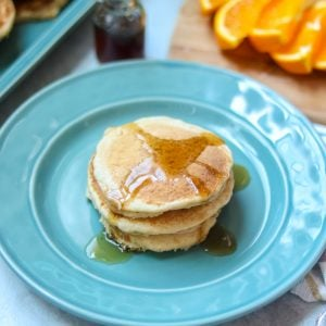 Healthy Whole Wheat Pancakes