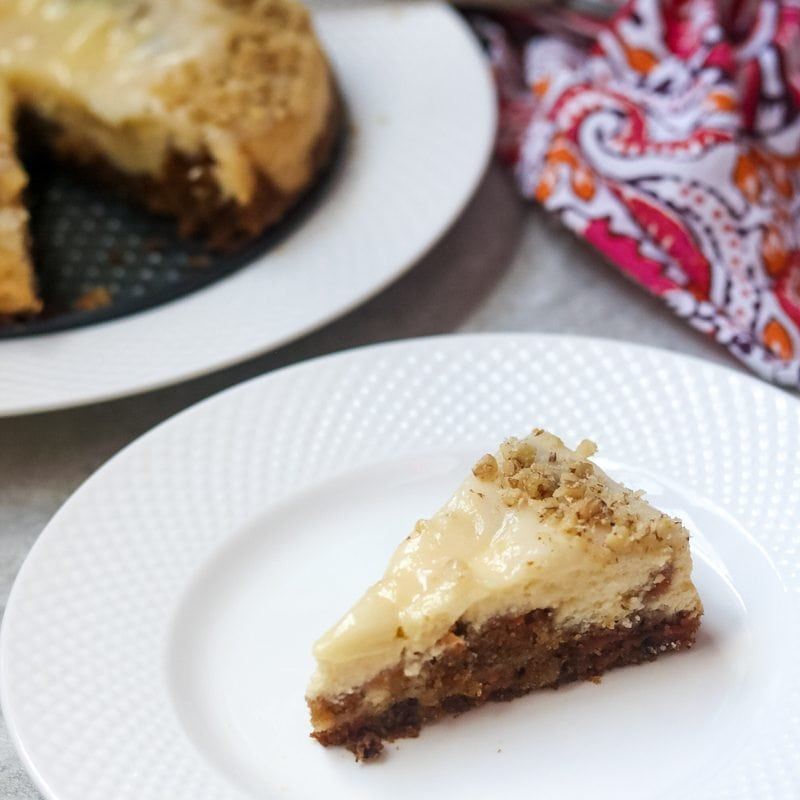 Instant Pot Carrot Cake Cheesecake A Mind Full Mom