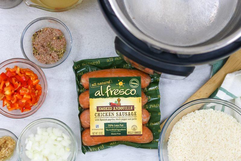 Ingredients for Chicken Jambalaya Recipe