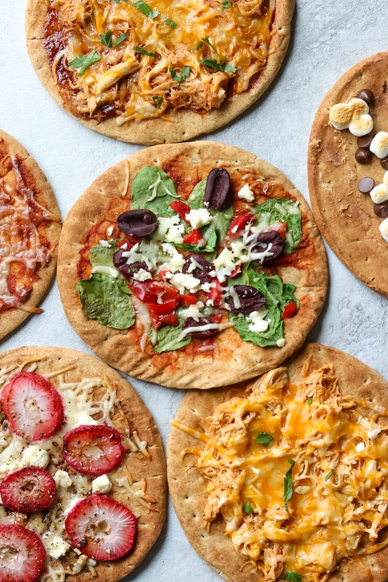 Easy Pita Bread Pizza 6 Creative Variations A Mind Full Mom