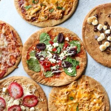 Simple Pita Bread Pizzas