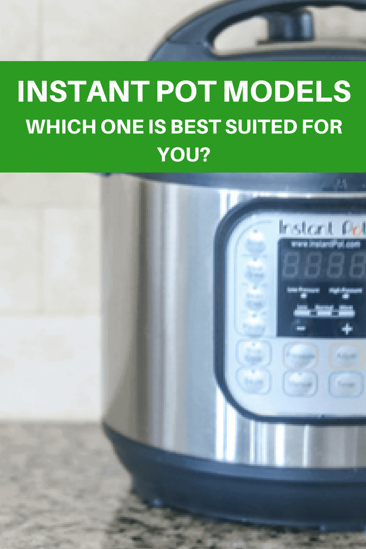 Instant Pot Models (Which one is BEST for YOU?) Do you feel overwhelmed by all the options of pressure cookers?? I break down the different models and accessories so you can choose the right Instant Pot for yourself.  #instantpot #electricpressurecooker #pressurecooking