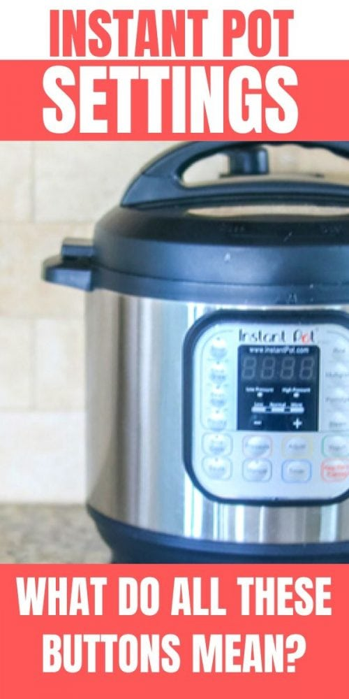 Do you feel overwhelmed by all the functions or settings on your instant pot? You are not alone! Regardless of your model or make, learn EVERYTHING you need to know about each Instant Pot Setting and how to use them! This guide will walk you through exactly what each function does and which ones you should use. Spoiler Alert: Most of the settings on the Instant Pot are USELESS!